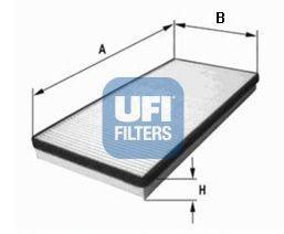 Фильтр, воздух во внутренном пространстве UFI 5302200
