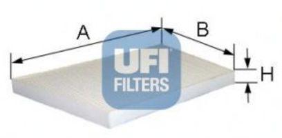 Фильтр салона UFI 5309400