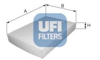 Фильтр салона UFI 53.150.00