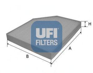 Фильтр салона UFI 53.153.00