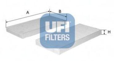 Фильтр салона UFI 5316400