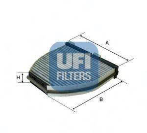 Фильтр салона UFI 54.163.00