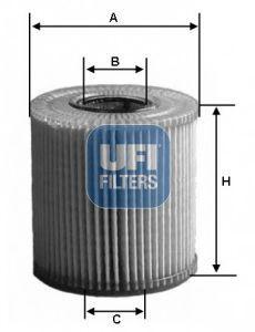 Фильтр масляный UFI 2515900