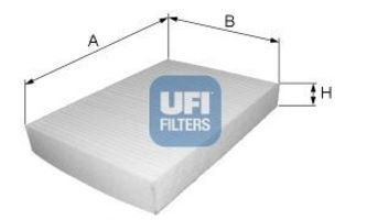Фильтр салона UFI 5322700