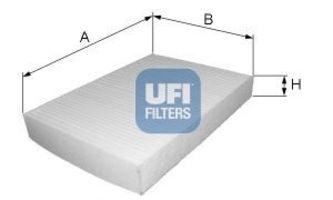Фильтр салона UFI 5323100