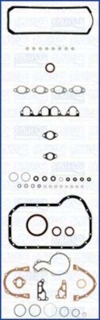 Купить Прокладки двигателя комплект полный без ГБЦ AJUSA 51007300