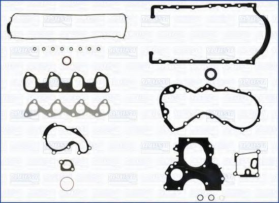 Купить Прокладки двигателя комплект полный без ГБЦ AJUSA 51013400