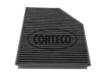 Фильтр салона угольный CORTECO 80001756