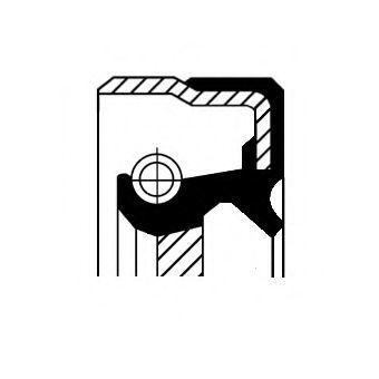 Сальник распредвала CORTECO 20011244B