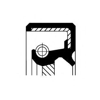 Уплотняющее кольцо, распределительный вал CORTECO 19027824B