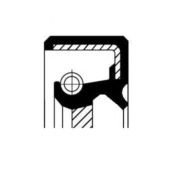 Уплотняющее кольцо, распределительный вал CORTECO 19016568B