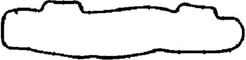 Прокладка клапанной крышки CORTECO 026657H