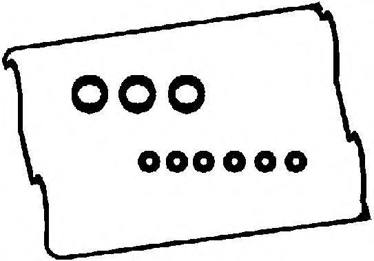 Прокладка, крышка головки цилиндра CORTECO 440161P