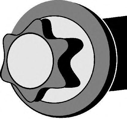 Комплект болтов головки цилидра CORTECO 016253B