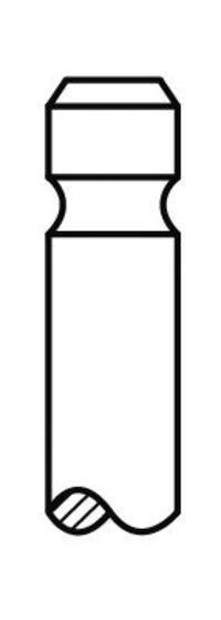 Клапан выпускной AE V91239