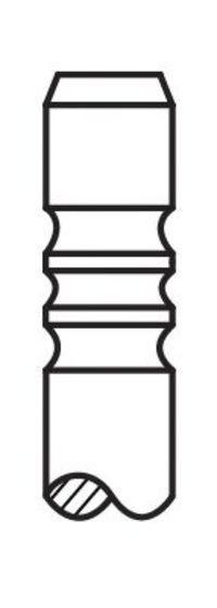 Клапан выпускной AE V91998