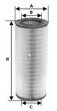 Воздушный фильтр SOFIMA S1460A