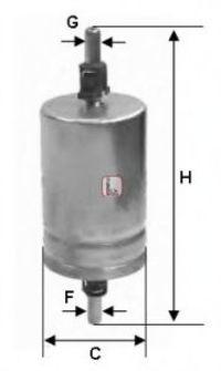 Фильтр топливный SOFIMA S1510B