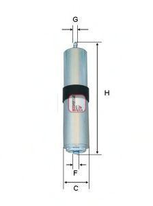 Фильтр топливный SOFIMA S1857B