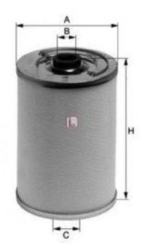 Фильтр топливный SOFIMA S2161N
