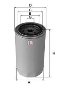 Фильтр масляный SOFIMA S3472R