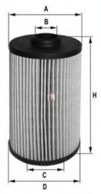 Фильтр масляный SOFIMA S5038PE
