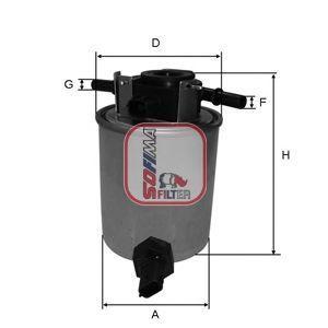 Фильтр топливный SOFIMA S4020NR