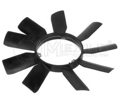 Крыльчатка вентилятора охлаждения двигателя MEYLE 0140200017