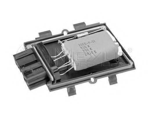 Сопротивление мотора вентилятора MEYLE 100 800 0037