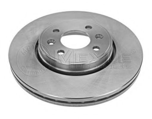 Купить Диск тормозной передний MEYLE 16155210004