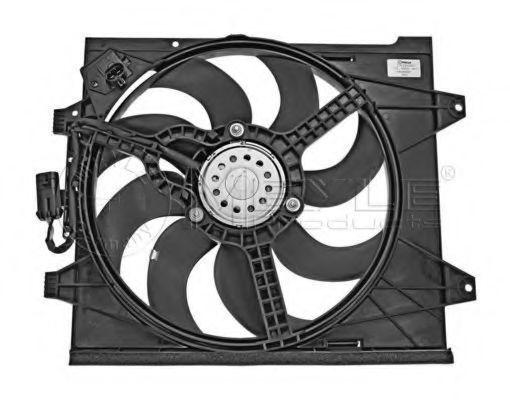 Вентилятор охлаждения двигателя MEYLE 2142360001