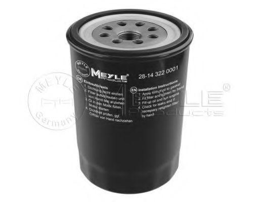 Фильтр масляный MEYLE 28-14 322 0001