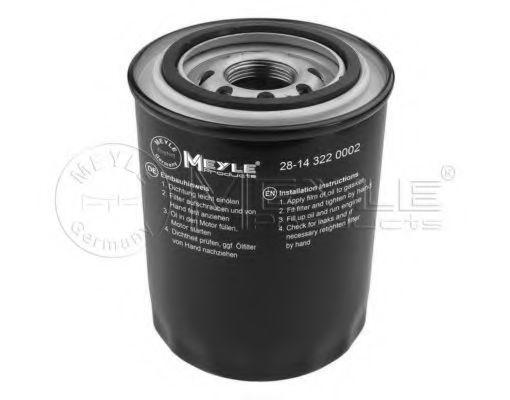 Фильтр масляный MEYLE 28-14 322 0002