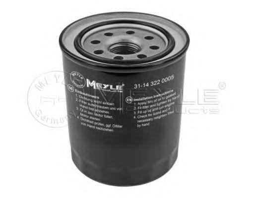 Купить Фильтр масляный MEYLE 31143220005