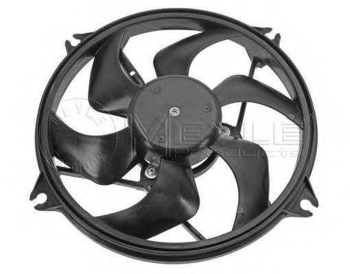 Вентилятор охлаждения двигателя MEYLE 40142320000