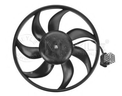 Вентилятор охлаждения двигателя MEYLE 6142360014