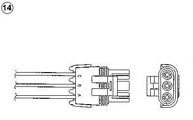 Лямбда-зонд NGK 91204