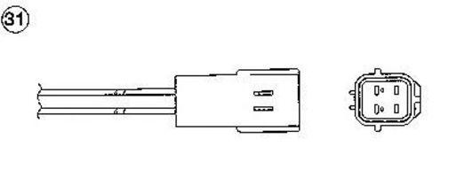 Лямбда-зонд NGK 92314
