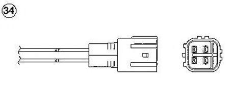 Лямбда-зонд NGK 97137