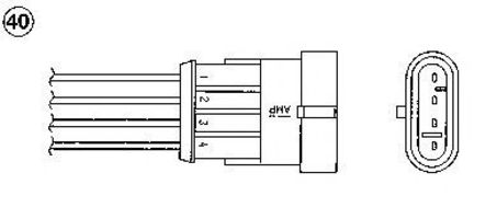 Лямбда-зонд NGK 0377