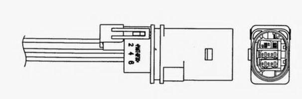 Лямбда-зонд NGK 93808