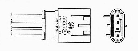 Лямбда-зонд NGK 0056