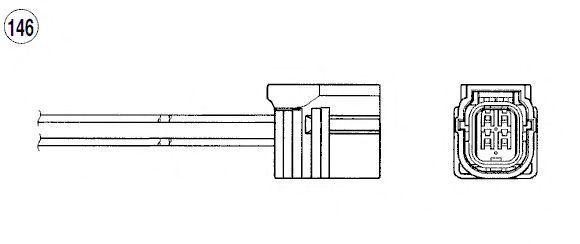Лямбда-зонд NGK 93765