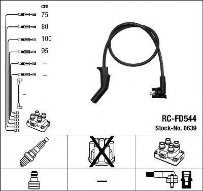 Провода высоковольтные комплект NGK 0639