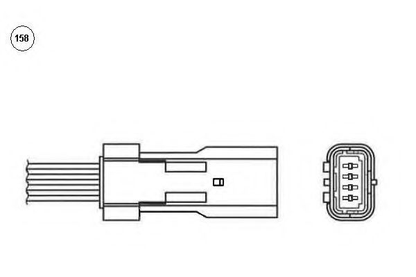 Лямбда-зонд NGK 92056