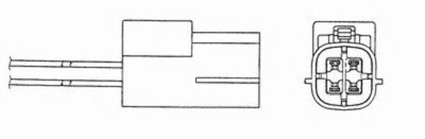 Лямбда-зонд NGK 95452