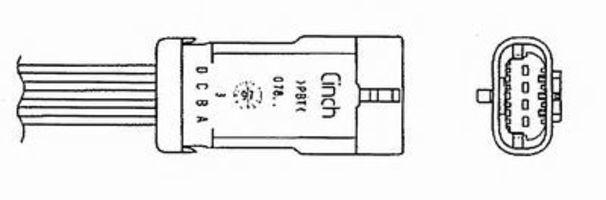 Лямбда-зонд NGK 1704