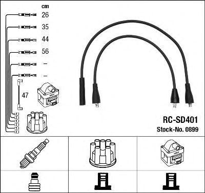 Комплект проводов зажигания NGK 0899