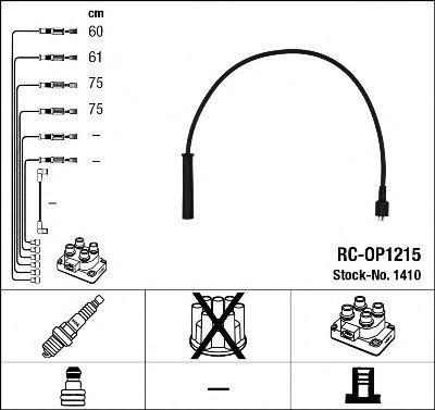 Комплект проводов зажигания NGK 1410