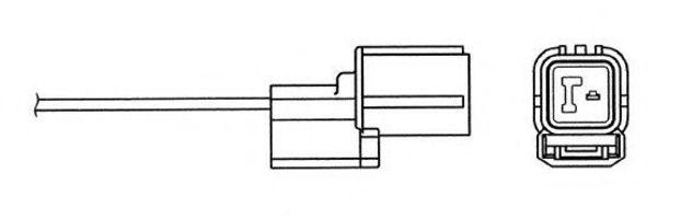 Лямбда-зонд NGK 6455